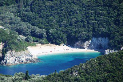 Rovinia beach