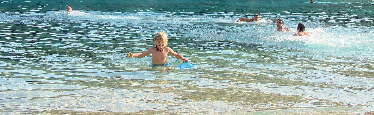 Agios Spyridon beach