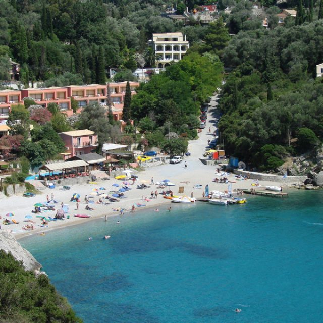 Gefyra beach